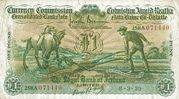 1 Pound / Punt (Royal Bank of Ireland) – obverse