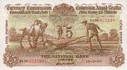 5 Pounds / Puint (National Bank) – obverse