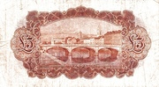 5 Pounds / Puint (Northern Bank) – reverse