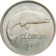 1 Flóirin / 2 Scilling – reverse