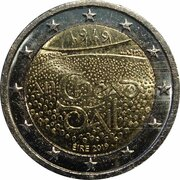 2 Euro (Centenary of the 1st. Meeting of Dail Eireann) – obverse