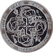 10 Euro (Celtic Culture) – reverse