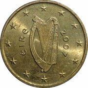 50 Euro Cent (2nd map) – obverse