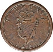 1 Penny (Public Accommodation Penny) – obverse