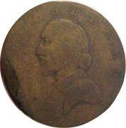 ½ Penny (Ireland - Shakespeare) – obverse