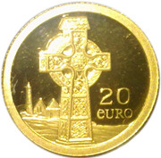 20 Euro (Celtic Cross) -  reverse