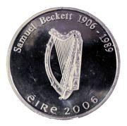 10 Euro (Samuel Beckett) – obverse