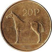 20 Pence -  reverse
