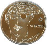 10 Euro (James Joyce) – reverse