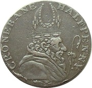 ½ Penny (Wicklow - Cronebane / Miners Arms) – obverse
