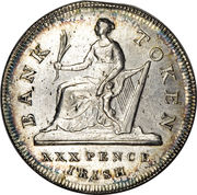 30 Pence - George III (Bank of Ireland - Token Coinage) – reverse