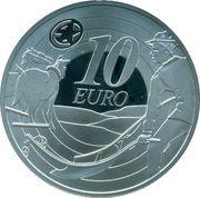 10 Euro (Ploughman Banknote) – reverse