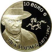 10 Euro (Jack B. Yeats) – reverse