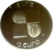 15 Euro (Ivan Mestrovic) – reverse
