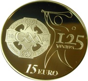 15 Euro (GAA Anniversary) – reverse