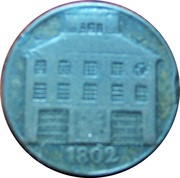 ½ Penny (Dublin - Pantheon) – obverse