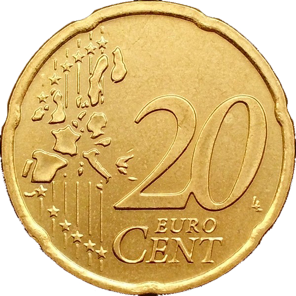 20 Euro Cent 1st Map