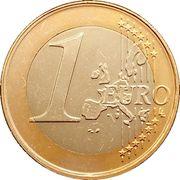 1 Euro (1st map) – reverse