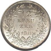 12 Kreuzer - Karl I – reverse