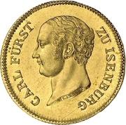 2 Ducat - Carl von Isenburg-Birstein – obverse