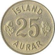 25 Aurar -  reverse