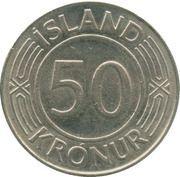 50 Krónur – reverse