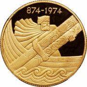 10 000 Krónur (1st Settlement) – reverse