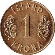 1 Króna -  reverse