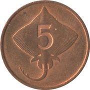 5 Aurar -  reverse