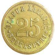 25 Aurar (Olafur Arnason) – obverse