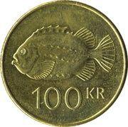 100 Krónur -  reverse