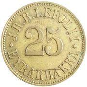 25 Aurar (J. R. B. Lefolii) – obverse