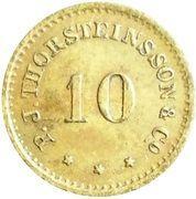 10 Aurar (P. J. Thorsteinsson) – obverse