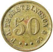 50 Aurar (P. J. Thorsteinsson) – obverse