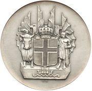 10 Krónur (Althing) – reverse
