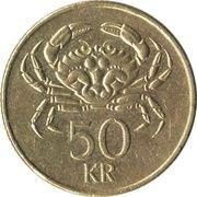 50 Krónur -  reverse
