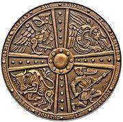 2 Krónur (Althing) – reverse