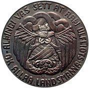 5 Krónur (Althing) – reverse