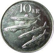 10 Krónur (Magnetic) -  reverse
