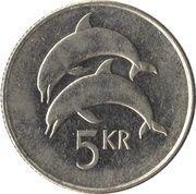 5 Krónur (Magnetic) -  reverse