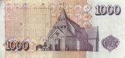 1000 Krónur – reverse