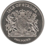 1 Pound (Abyssin) – obverse