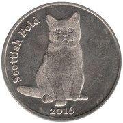 1 Pound (Scottish Fold) – reverse
