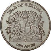 1 Pound (Siamese) – obverse