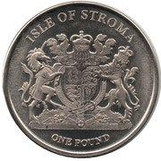 1 Pound (Bengal) – obverse