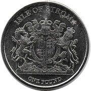 1 Pound (Bleu Russe) – obverse