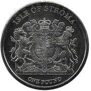 1 Pound (Burmilla) – obverse