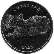 1 Pound (Savannah) – reverse
