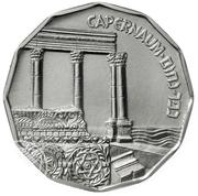 ½ Sheqel (Capernaum) -  reverse