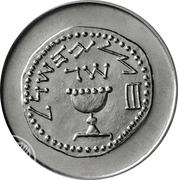 ½ Lira (Feast of Purim) – reverse